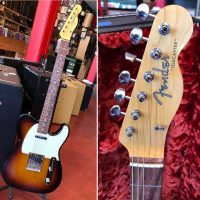 Custom Built Telecaster by Doiug Fieger. B Hefner body and neck. 1965 pots and neck plate w/ HSC- $2,500