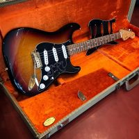 2002 Fender SRV Stratocaster w/ OHSC and extra pick guard - $1,295