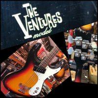 1965 Mosrite Ventures Bass w/ ohsc - $1,195
