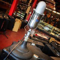 RCA 77 Ribbon mic w/ stand rebuilt by Stephen Sank - $1,999
