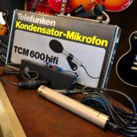 Telefunken TCM600 condenser w/ power supply & box - $199