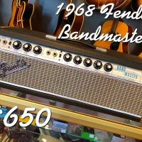 1968 Fender Bandmaster head - $650