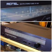 Rotel RT-1000 stereo tuner - $100