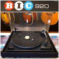 BIC 920 turntable - $50