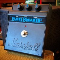 Early 1990's Marshall Blues Breaker overdrive - $295