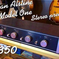Van Alstine Model One hi-fi stereo preamp- $350