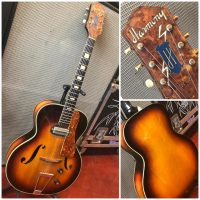 Late 1940's Harmony H50 - $595 Has original Gibson made p-13 pickup