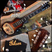 1947 Gibson BR-4 lap steel w/ohsc - $650