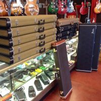 Cases for Jazzmaster, Jaguar, Stratocaster, Telecaster, P-Bass, and Jazz Bass.