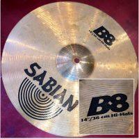 """Sabian B8 14"""" Hi-Hats - $40"""