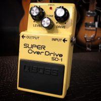 1987 Boss SD-1 Super Over Drive MIJ - $100