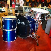 "Starter 3 piece Gammon drum okit blow out! 22"" Kick drum, 12"" Tom, 13"" Tom and 6x14 Percussion Plus Snare drum with case - $100 Will need some heads and hardware."