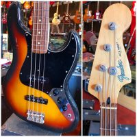 1993-94 Fender JB-45 Jazz Bass MIJ w/ gig - $695