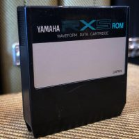 Yamaha RX5 waveform data cartridge - $50
