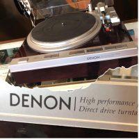 Denon DP-47F turntable - $650