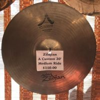 "Zildjian A Custom 20"" Medium Ride - $150"