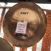 "Zildjian ZBT 18"" China - $45"