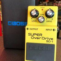 Boss SD-1 Super Overdrive - $45