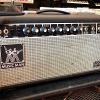 1980 Music Man 100RD head w/ foot switch - $450