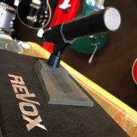 Revox M3500 dynamic mic w/ stand & box - $249