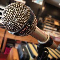 AKG D707E dynamic mic - $125