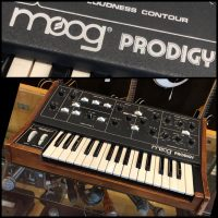 Early 1980's Moog Prodigy analog synth - $1,195