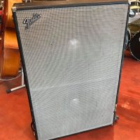 "Late 1960's Fender Dual Showman 2x15"" cab - $450"