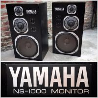 Late 1970's Yamaha NS-1000M studio monitors - $1,000